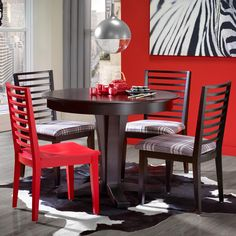 Gourmet - Custom Dining <b>Customizable</b> Round Table Set by Canadel