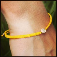 Crystal disk braided bracelet. http://www.katieleighboutique.com/collections/bracelets/products/crystal-disk-braided-bracelet