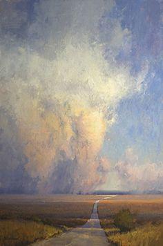 Prairie Tower by Kim Casebeer Oil ~ 30 x 20