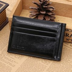 $4.46 (Buy here: http://appdeal.ru/8hhh ) New Fashion 2016 men wallets leather…