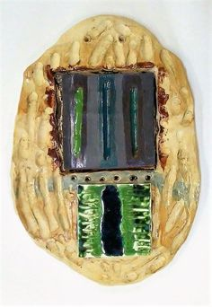 Everything's Gone Green - Ceramic Wall Hanging / Wall Art / Wall Sculpture