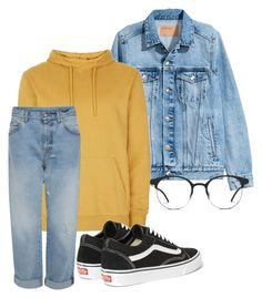 """Untitled #1"" by lifacutie ❤ liked on Polyvore featuring Vans and GlassesUSA"