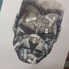 Drawing Heads, Art Drawings, Frank Miller Art, Ben Oliver, Comic Drawing, Comic Artist, Art Sketchbook, Comic Books Art, Anime Manga