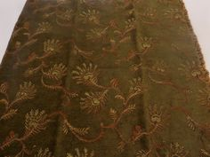 """The #Peacock #Collection   VERONA  OLIVE Fabric #Sample  25"""" x 26""""   85% Rayon 15% Polyester                      + FREE SAMPLES!!! #fabric #supplies #floral #flowers #sample #collection #seamist #cotton #fabricsamples10 #peacock #verona #olive"""