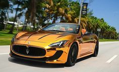 "Maserati is an Italian luxury vehicle manufacturer established on 1 December in Bologna. The Maserati tagline is ""Luxury, sports and style cast in exclusive cars"". Maserati, My Dream Car, Dream Cars, Latest Cars, Car And Driver, Luxury Cars, Luxury Vehicle, Porsche 911, Super Cars"