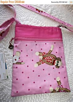 On Sale Bag Nook Kindle eReader Sling Messenger by Gingerbread123