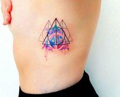 18 tatuagens aquareladas que vão te inspirar a fazer uma