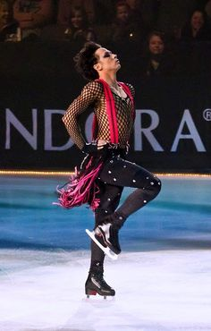 Want Your Bad Romance? Why Yes. Yes, We Do. | Binky's Johnny Weir Blog.  Johnny at Fashion on Ice, Sep 2011. Exclusive photo © David Ingogly.