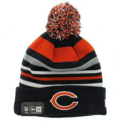 Chicago Bears The Stripe Out Beanie - Team Colors