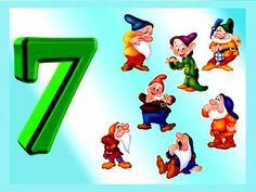 Numerele 1-10 - etapele procesului de invatare la prescolari si fise de lucru potrivite Numbers Preschool, Math Numbers, 7 Seven, Number Matching, Petite Section, Family Guy, Teacher, Content, Writing Papers