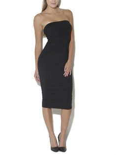 Bodycon Midi Tube Dress from Arden B