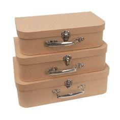 Valise carton lot de 2 valises d corer gigogne indiana jones indiana a - Valise en carton vintage ...