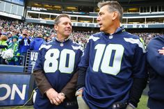 Seahawks greats Jim Zorn Steve Largent team up for flashback Washington Lottery ad
