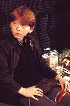 Rupert Grint: Harry Potter à l'école des sorciers (11 ans)