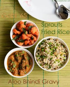 Bhindi Rice Recipe Rak S Kitchen