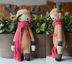 Crochet Pattern Deer Lisa  Lalylala Modification by MyKrissieDolls