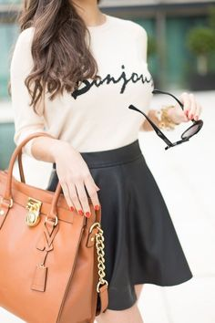 I am loving the circle skirt trend