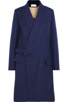 Chloé Wool-drill coat | THE OUTNET