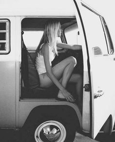 bus, car girl, california, road trips, beach, the road, vw vans, summer days, fast foods