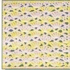 Free crochet stitch pattern - snapdragon stitch