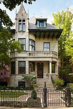 Historic Landmark Greystone - traditional - Exterior - Chicago - Burns and Beyerl Architects