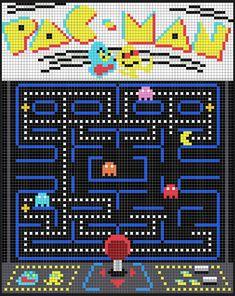 Funny Cross Stitch Patterns, Cross Patterns, Perler Patterns, Cross Stitch Designs, Funny Pixel Art, Perler Beads, Cross Stitching, Cross Stitch Embroidery, Stitch Games