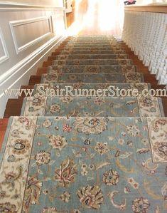 Cheap Carpet Runners For Stairs Best Carpet For Stairs, Carpet Staircase, Staircase Runner, Staircase Remodel, White Staircase, Hall And Stair Runners, Stair Runner Installation, Stair Makeover, Hallway Designs