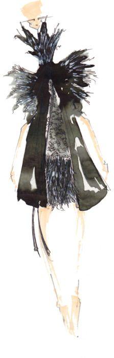 J.Larkowsky Illustration | Chanel on the off Chance: Spring 2011