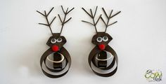 Rudolph the Red Nosed Reindeer Hair Bows