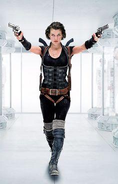 CIA☆こちら映画中央情報局です: Resident Evil : ミラ・ジョヴォヴィッチ主演のシリーズ最新作の3D映画「バイオハザードⅤ: リトリビューション」が予告編を初公開!! - 映画諜報部員のレアな映画情報・映画批評のブログです