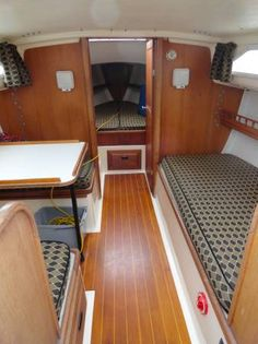 Ranger 26' looks like inside oder the boat my daddy had