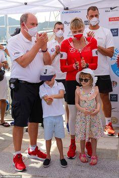 Welcome Home Banners, Prince Albert Of Monaco, Bike Challenge, Charity Water, Shave Her Head, Prince Rainier, Charlene Of Monaco, Monaco Royal Family, Princesses