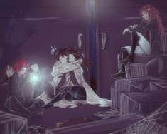 by Cashandas on DeviantArt Anime Couples Manga, Cute Anime Couples, Anime Manga, Manga Girl, Anime Girls, Anime Art, Dr Grey, D Gray Man Allen, Dark Anime Guys