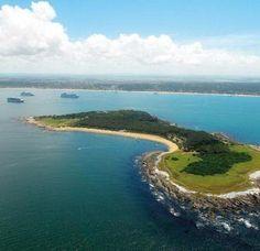 Isla Gorriti, paseo obligado desde Punta del Este Montevideo, Costa, The Dreamers, To Go, Places To Visit, Journey, River, World, Outdoor