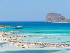 Balos, Ilha de Creta – Localizada na famosa Ilha de Creta (Grécia), aquela do Minotauro, Balos deslu... - Shutterstock