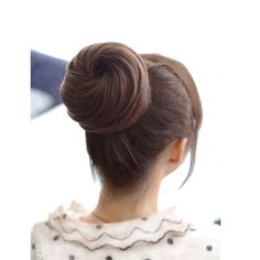 #Hairstyle #high #bun