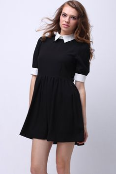 Wednesday Addams dress. Cute to wear just whenever but would be great for a costume too.