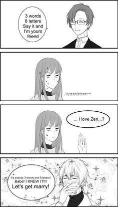 Zen verson hahaah what a narcissist but still hahahah