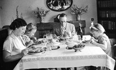 In defense of family dinner Let's not give up on home-cooked meals; let's just ditch the many factors that make them a pain - You don't have to get this traditional about it; just sit down to dinner as a family!