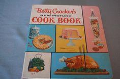 1961 Betty Crocker New Picture Cook Book by VintageBookMarket, $149.00