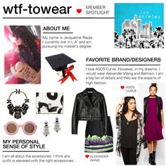 """""""I have an eclectic style, so inspiration comes from everywhere. It can be as simple as going through my saved items or getting ideas from street style on social media."""" - wtf-towear, on where she gets inspiration to create sets: http://polyv.re/11lIMlV"""