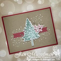 Stampin' Up! - In The Pines Bundle - Pine Woods Dies - Heartwarming Hugs DSP Simple Card Designs, Wood Dice, Ink Stamps, Card Making Inspiration, Stamping Up, Creative Art, I Card, Card Stock, Christmas Cards