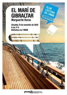 Club de lectura: El Marí de Gibraltar / Marguerite Duras Marguerite Duras, Content, Reading Club