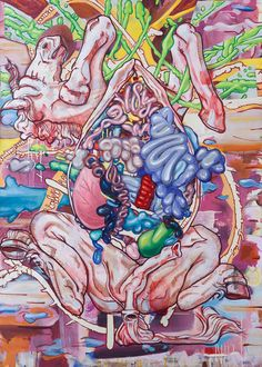 The Pop-Surrealist Paintings Of Bill Dambrova Anatomically Explore The Mind And Body