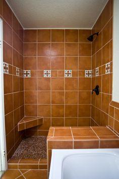 8 Ft X 4 Ft Shower Stall In Poway. Pony Wall, Stripe, Recessed Shampoo  Shelf | Tiled Showers | Pinterest | Pony Wall, Wall Stripes And Tiled  Showers