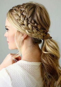 100 charming braided hairstyles ideas for medium hair (103)