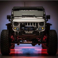 Mean looking Jeep