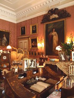 The Drawing Room  - Kingston Lacy - Dorset - England