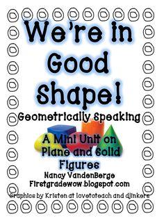 math, anim eatand, animals, shape unit, geometri unit, free geometri, first grade, 1st grade, geometry