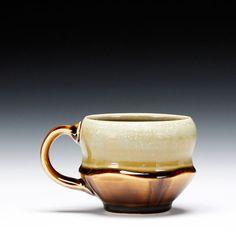 Ryan J. Greenheck  Description:porcelain with multiple glazesDimensions:3.5h Kopper, Pottery Mugs, Pottery Art, Ceramic Pottery, Clay Mugs, Pottery Techniques, Ceramic Cups, Mug Cup, Artsy Fartsy